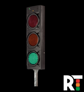 Image of 2 way traffic lights - Hire to Traffic management customer