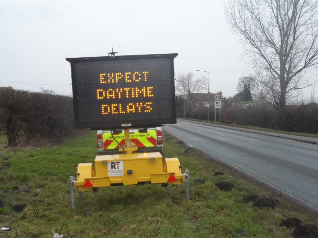 Variable Message Sign - Local Authorties Hire